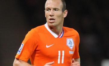 Robben fit for Dutch – physio