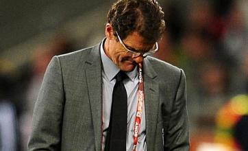 Capello: England feeling pressure