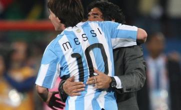 Maradona has taste for success