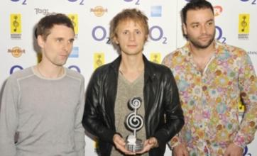 Muse pick up O2 Silver Clef Award