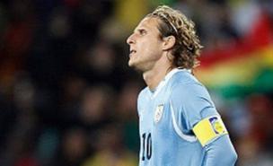 Diego Forlan scored Uruguay's equaliser (Allstar)