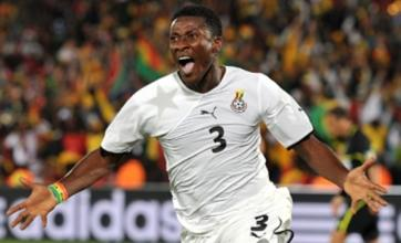 Asamoah Gyan 'a transfer target for new Liverpool boss Roy Hodgson'
