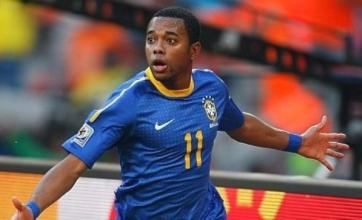 Robinho tells Manchester City he wants to return to Santos