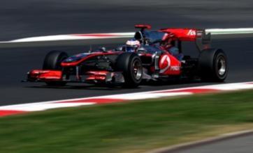 Jenson Button suffers as Sebastian Vettel takes pole in Hungary