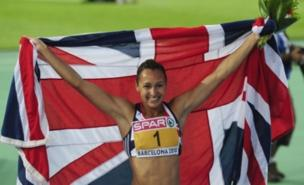 Jessica Ennis added European gold to her world title (PA)