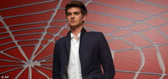 Andrew Garfield is to play Peter Parker in the next Spider-Man film