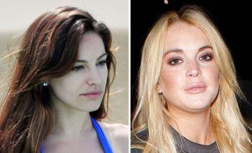 Lindsay Lohan battles Kelly Brook for Danny Cipriani in Celebrity Face off