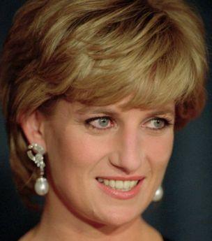 Princess Diana: her hair is now jam