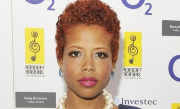Kelis caused a barbeque blaze at T4 On The Beach