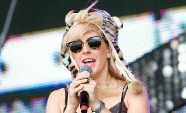 Ellie Goulding displays quirky fashion sense with silly hat: Dare to wear?