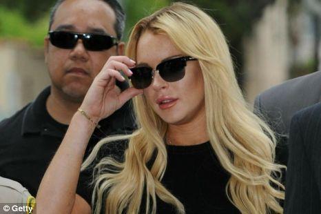Lindsay Lohan has thanked Kim Kardashian for her support via Twitter