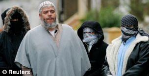 Muslim cleric Sheikh Abu Hamza