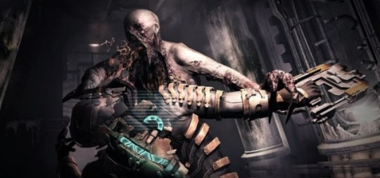 Dead Space 2 - turn to page 12 to fight monster