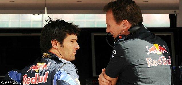 Christian Horner and Mark Webber