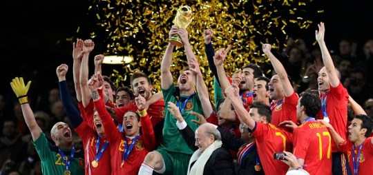Spain win World Cup