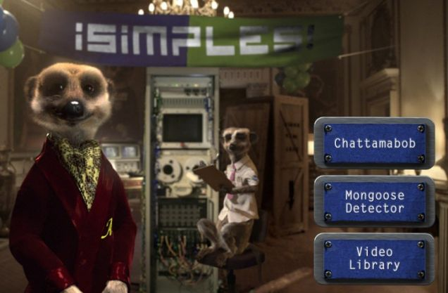 A new version of iSimples, the Comparethemeerkat iPhone app, is available right now. Simples!