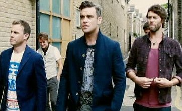 Take That keep Robbie Williams comeback image a secret