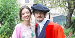 Happy couple Miranda Kerr and Orlando Bloom (Photo: BigPictures)
