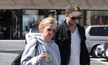 Robert Pattinson takes mum to the cinema