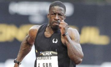 Dwain Chambers draws inspiration from Linford Christie's Olympic gold