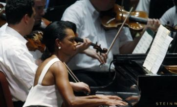 Condoleezza Rice and Aretha Franklin: The unlikely duet