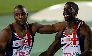 Dwain Chambers fails to win gold but team GB get a silver in 100m final