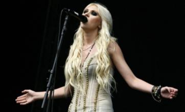 Taylor Momsen chooses skimpy outfit for V Festival show