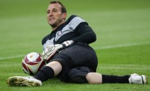 Mark Schwarzer will not become an Arsenal player (PA)