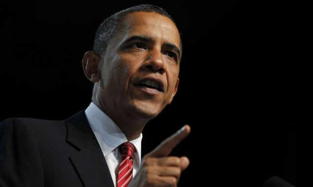 President Barack Obama speaks at the Disabled American Veterans national convention in Atlanta