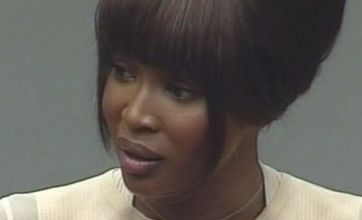 Naomi Campbell: I didn't flirt with Charles Taylor