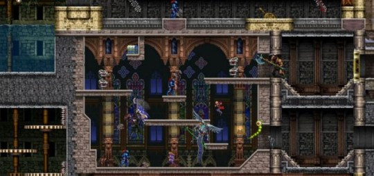 Castlevania: Harmony Of Despair - the living undead of platform games
