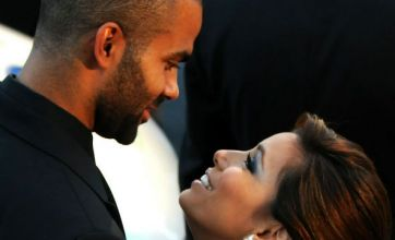 Eva Longoria and Tony Parker look starry-eyed at charity gala