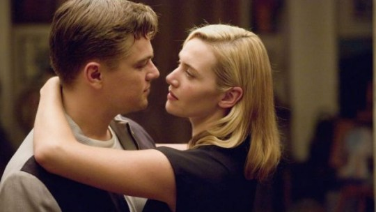 Leonard DiCaprio and Kate Winslet in Revolutionary Road