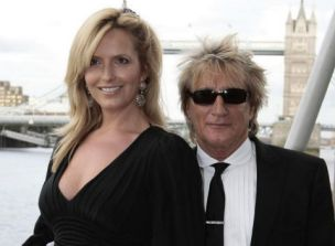 Rod Stewart and wife Penny Lancaster (Photo: PA)