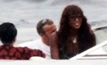 Naomi Campbell parties with Blood Diamond star Leonardo DiCaprio after war crimes trial
