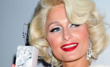 Paris Hilton makes like Marilyn Monroe to launch tenth fragrance