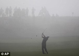 The first round of the PGA Championship at Whistling Straits was dogged by fog