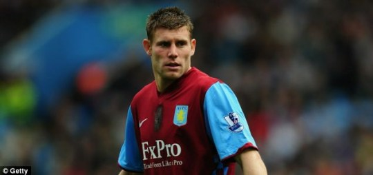 Goodbye? James Milner could be set to transfer to Manchester City after a prolonged transfer battle.