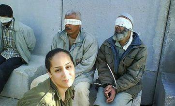 Facebook storm over Palestinian prisoner pictures
