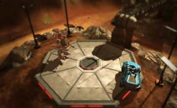 Red Faction: Battlegrounds downloads on 360 and PS3