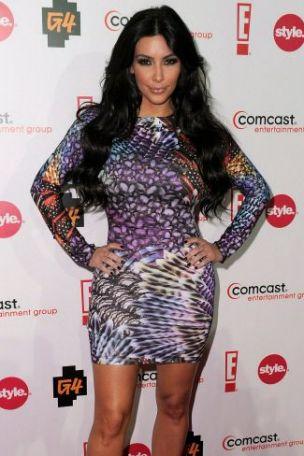 Megan Fox, Kim Kardashian, 2010 Teen Choice Awards