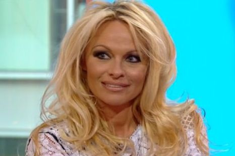 Pamela Anderson was a guest on The One Show