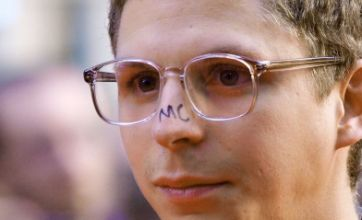 Scott Pilgrim vs The World premiere: Michael Cera geeks up with initials on his nose