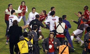 Copa Libertadores riot on YouTube after Internacional beat Chivas