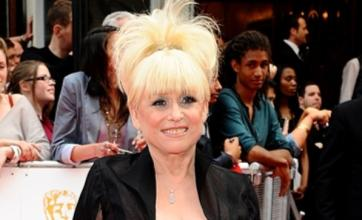 Peggy Mitchell exits EastEnders by walking out of Albert Square