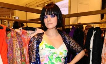 Lily Allen performs with Professor Green at Muse show