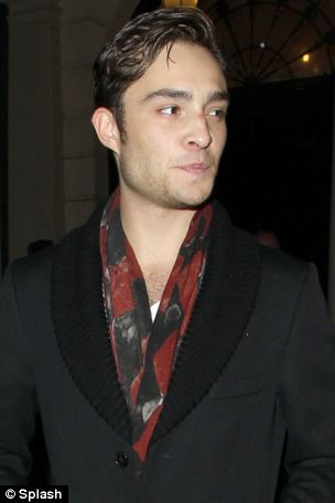 Ed Westwick certainly seems to want her to be...