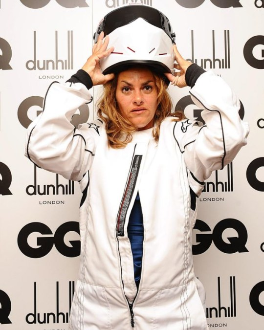 Tracey Emin at the 2010 GQ Men of the Year Awards: The new Stig?