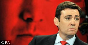 Labour Party leadership hopeful Andy Burnham