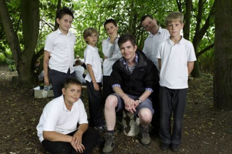 From classroom to chopping trees: Gareth Malone's Extraordinary School For Boys